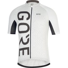 GORE WEAR C3 Brand Jersey Men white/black